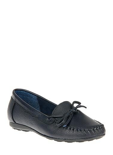 Ziya Hakiki Deri Günlük Ayakkabı Lacivert